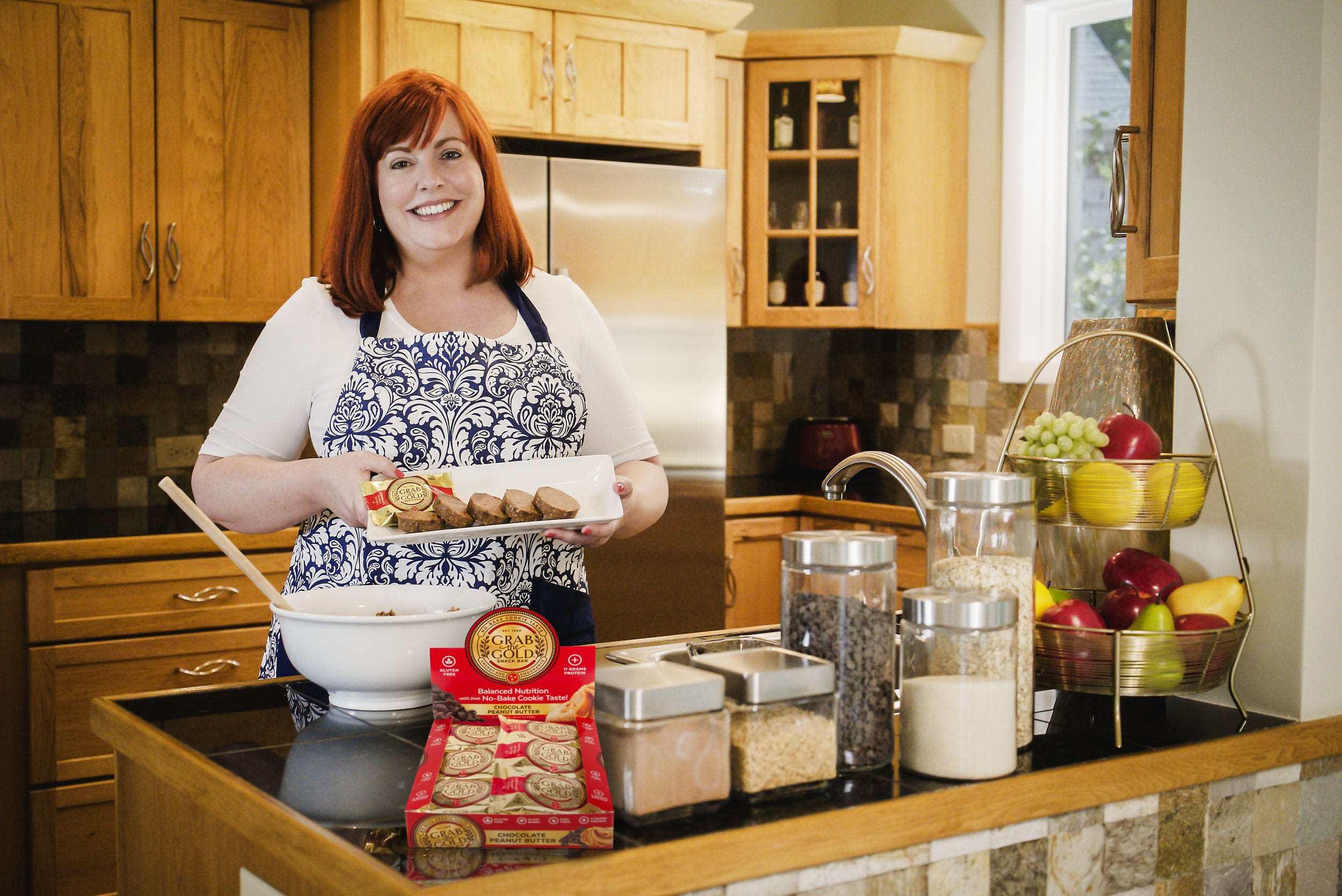 Grab The Gold Danielle Ontiveros In The Kitchen