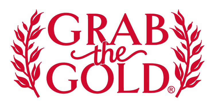 Grab The Gold Logo 2017 Red
