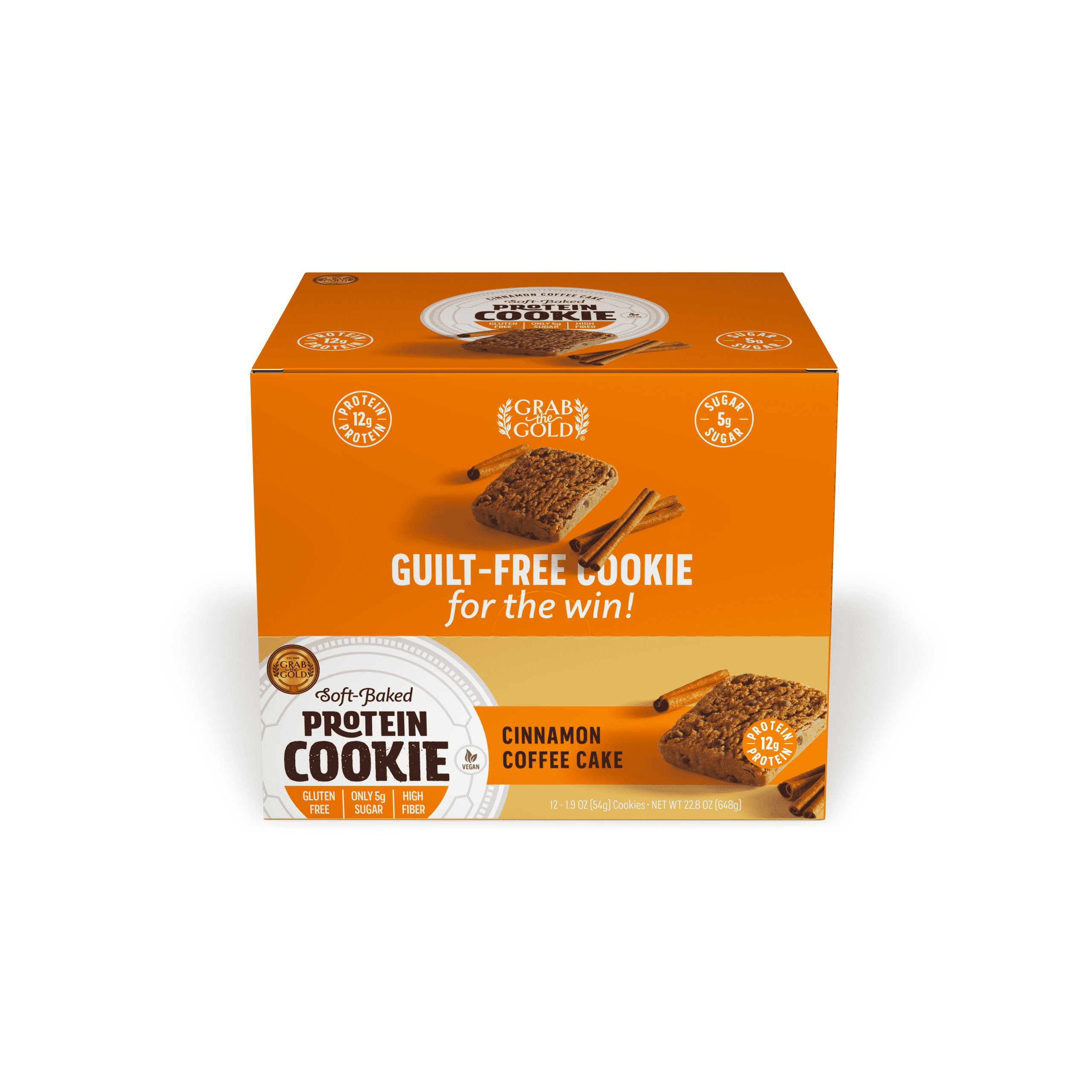 Grab The Gold Protein Cookie POS CCC Closed Box 08.20