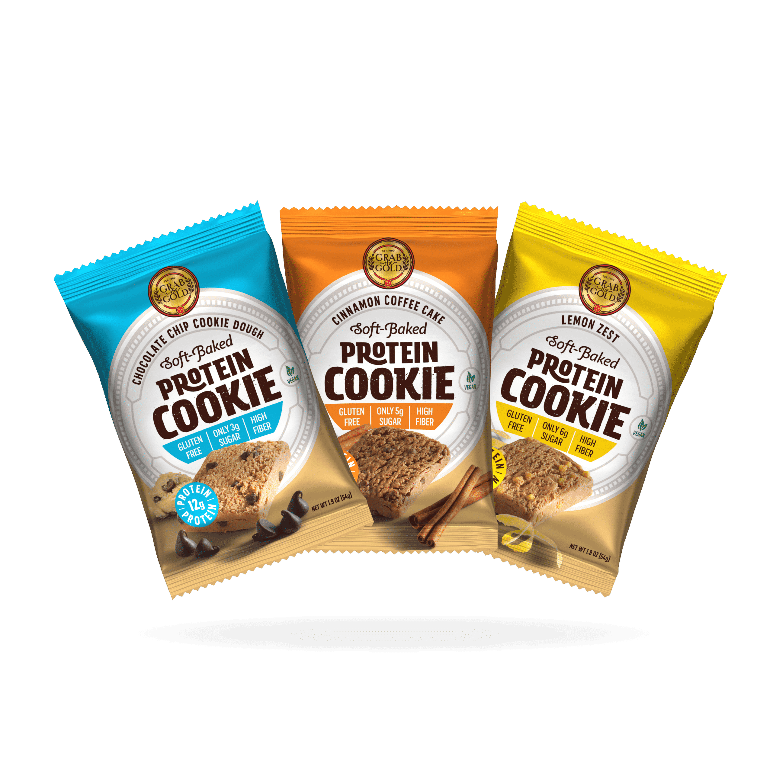 Grab The Gold Protein Cookies 3up 09.20