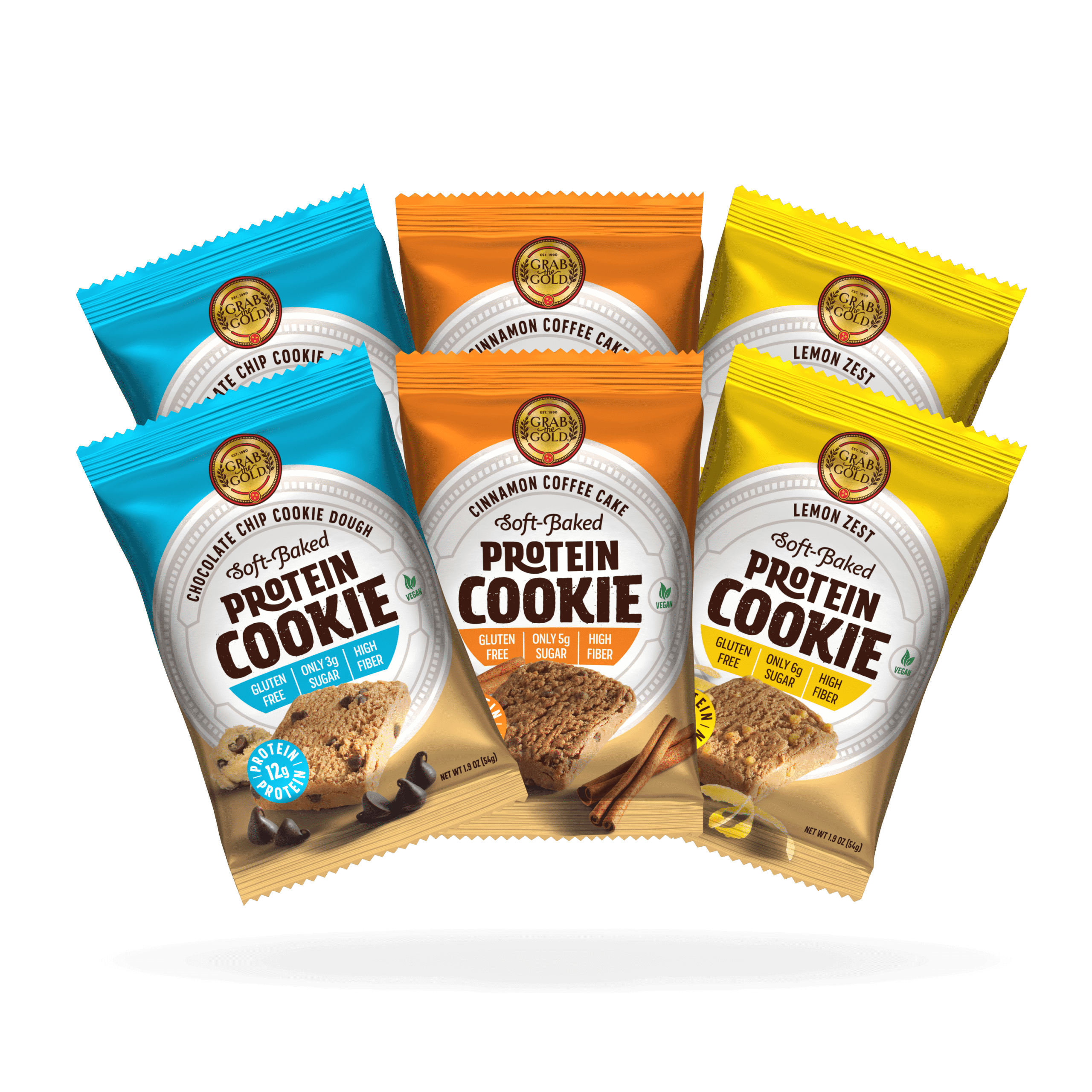 Grab The Gold Protein Cookies 6up 09.20