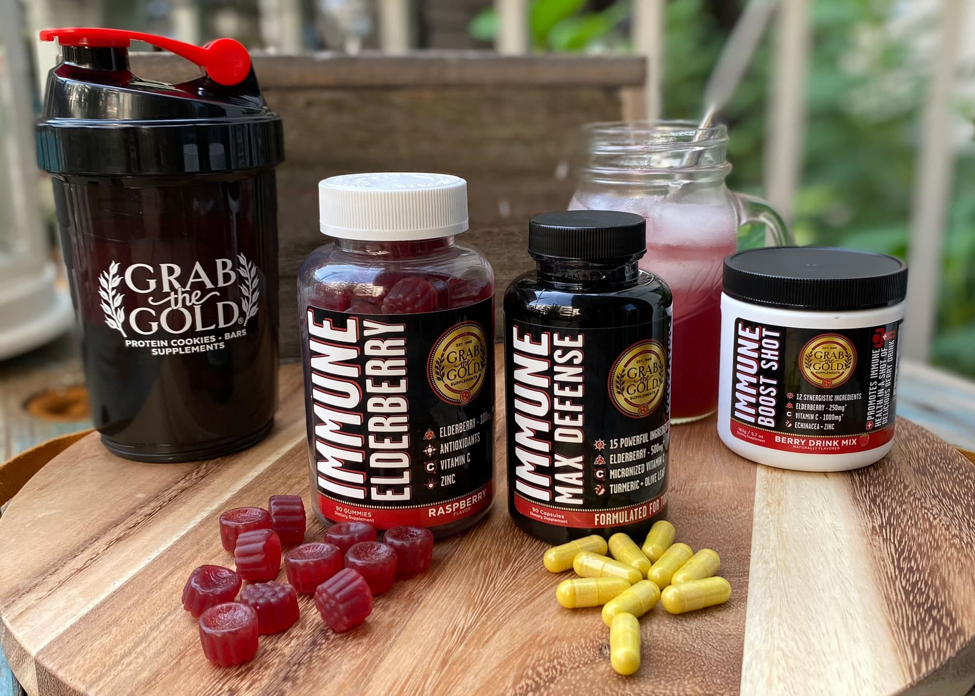 grab the gold immune support supplements
