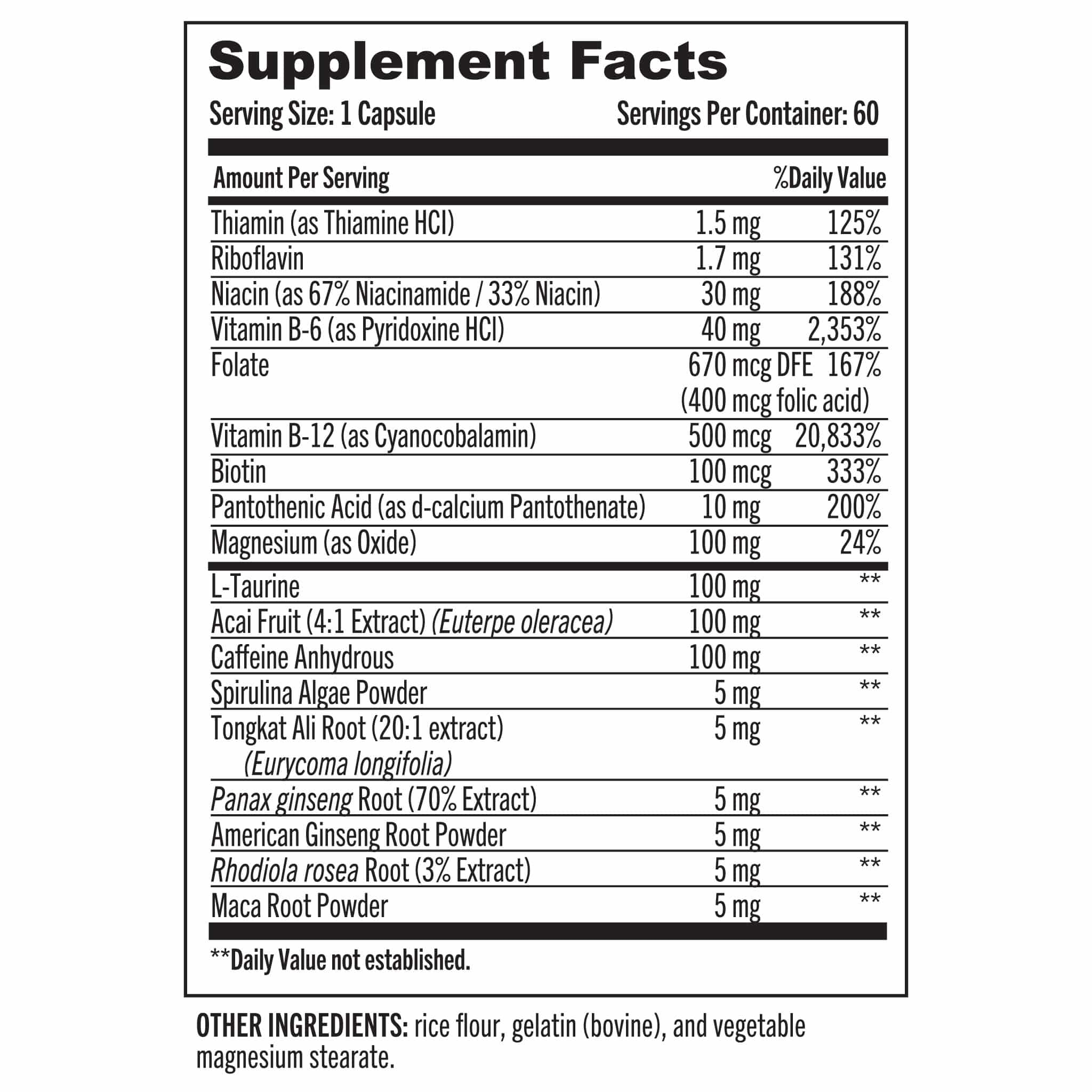04 Grab The Gold Surge Pure Energy Nutrition Facts 03.20