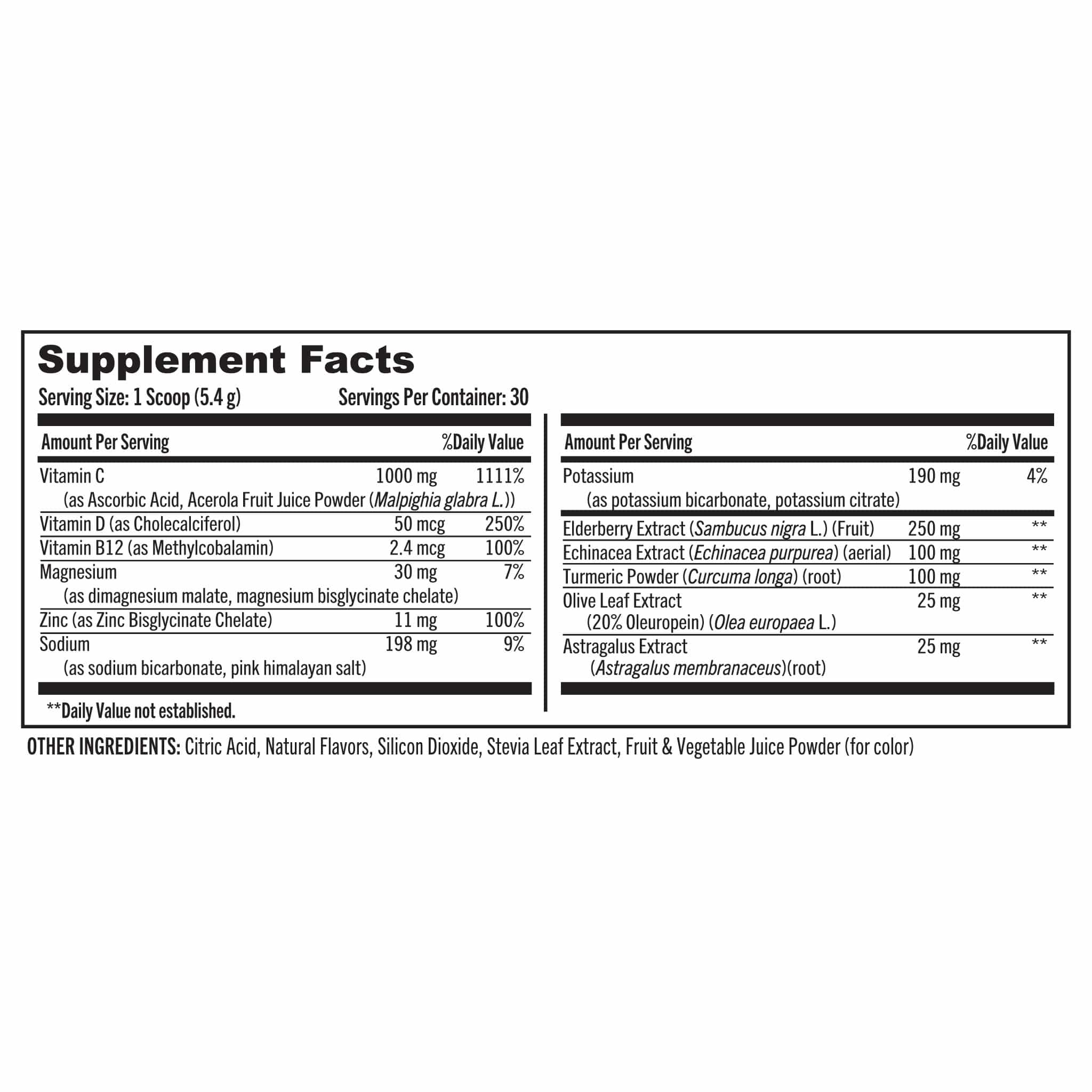 09 Grab The Gold Immune Shot Berry Nutrition Facts 05.20