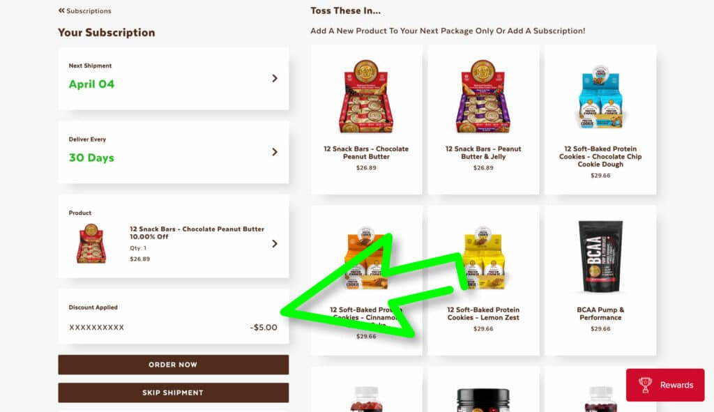 Grab The Gold Gold Rush Rewards Instructions discount applied
